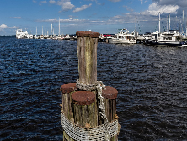 Boats at Dock, Reynolds Industrial Park