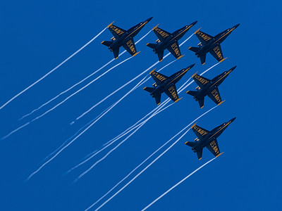 Navy Blue Angels at 2015 Sea and Sky Spectacular