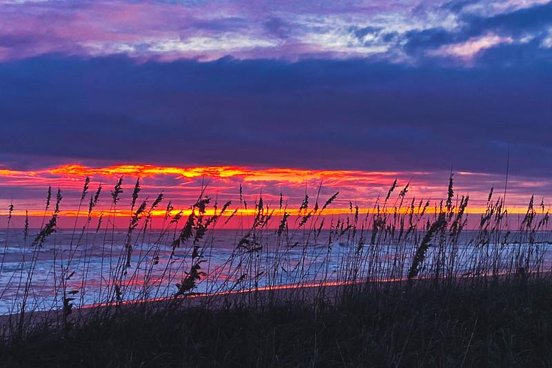 Vilano Beach at Sunrise