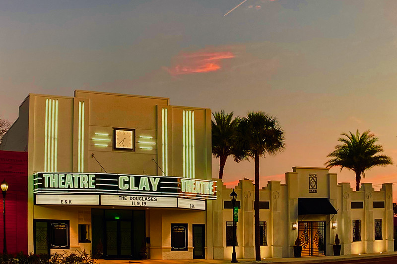 Clay Theater in Green Cove Springs