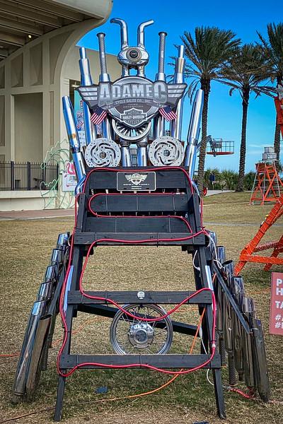 Adamec Harley-Davidson at Deck the Chairs