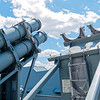 USS Wisconsin BB-64 Harpoon Launcher