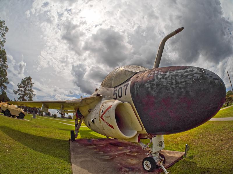 A-6 Intruder at Camp Blanding