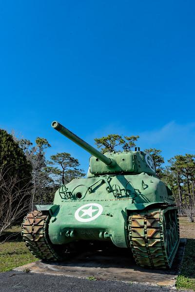 World War II Army Tank