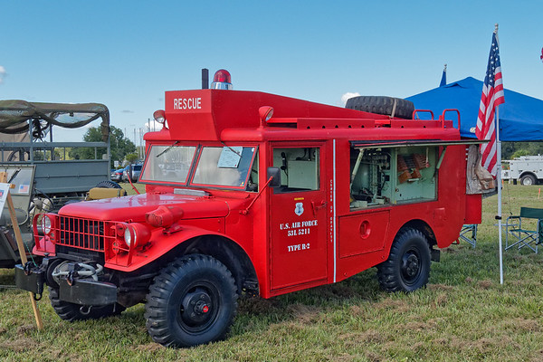 U,S.A.F. Type R-2, Truck, Crash, Forcible Entry, Emergency Rescue, manufactured by Dodge, 1953