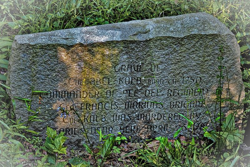 Grave of Col. Abel Kolb
