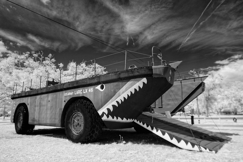 Army Amphibious Cargo Vehicle