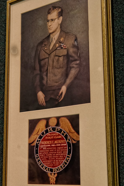 PFC Frederick C. Murphy, Congressional Medal of Honor