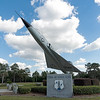 Air Force F-106A Delta Dart at  Camp Blanding