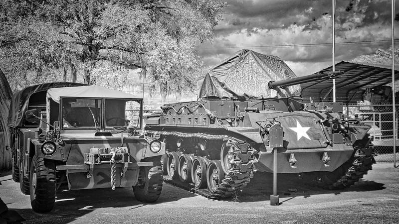 US Army Truck and Tank