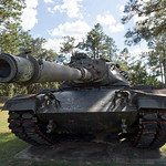 M60 Patton Tank at  Camp Blanding