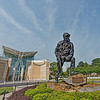 Iron Mike Statue Outside Airborne & Special Operations Museum