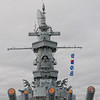 USS Alabama (BB-60)'s 16-inch Gun Muzzles