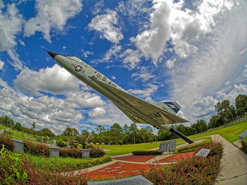 Air Force Delta Dart at Camp Blanding