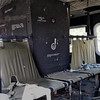 """Interior of UH-1 """"Huey""""  Helicopter"""