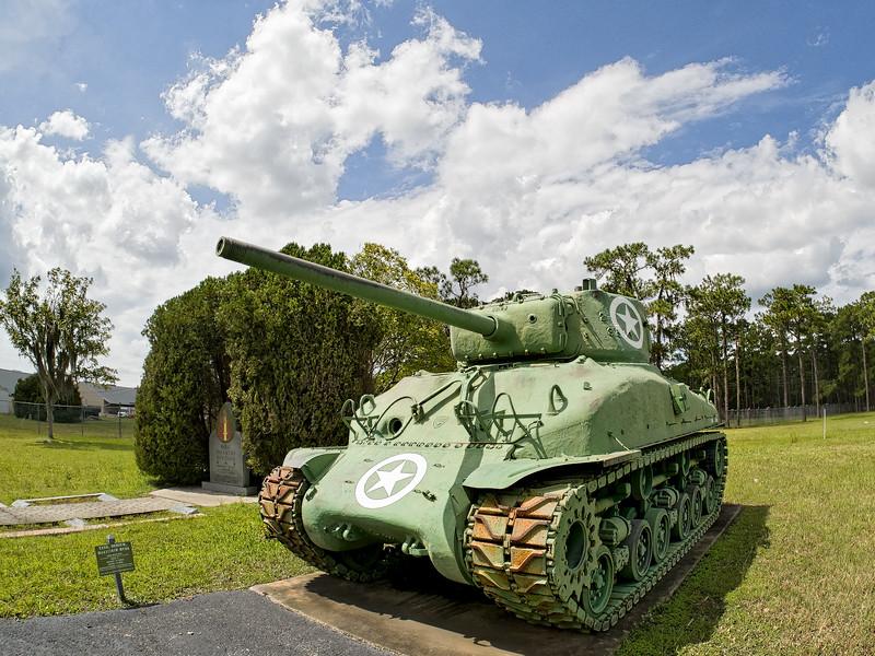 Camp Blanding's Sheman Tank