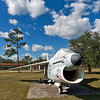 Navy A-7 Corsair II at Camp Blanding
