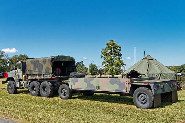 Army Truck and Trailer