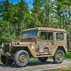 United States Army WWII-era Jeep