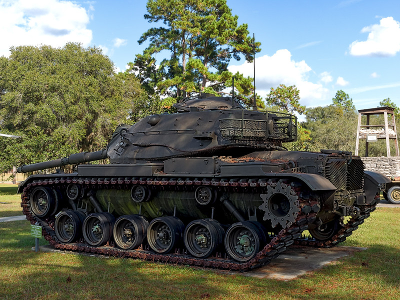 Patton Tank at Camp Blanding
