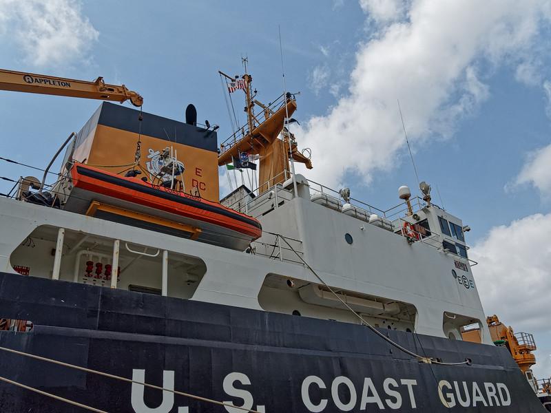 USCGC Elm's Superstructure