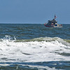 Coast Guard Boat off Jacksonville Beach