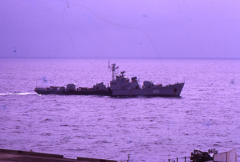 Russian frigate Petya, 1973, (photographed from USS Intrepid) (photographed from USS Intrepid)