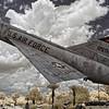 Air Force F-106A Delta Dart at Camp Blanding