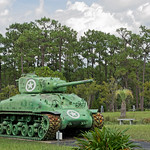 Sheman Tank at Camp Blanding