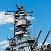 USS Wisconsin (BB-64) Superstructure