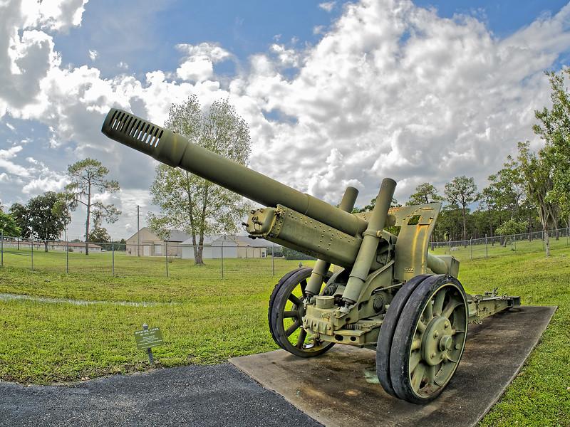 Camp Blanding 152mm Howitzer