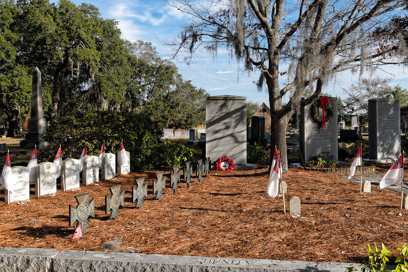 Hunley Crew Burial at Magnolia Cemetery