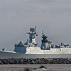 Chinese Navy Missile Frigate 548 Yiyang at Mayport