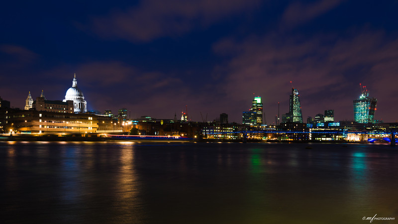 London in Twilight