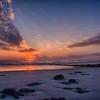 Sunrise at Marineland Beach