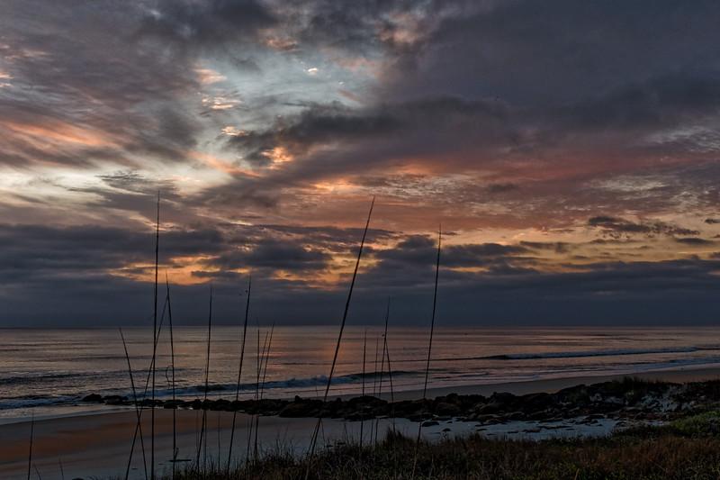 Sunrise Over The Coquina