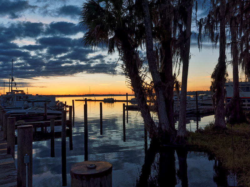 Palatka's St. Johns River at Sunrise