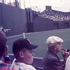 Allen at Fenway Park in the 1950's