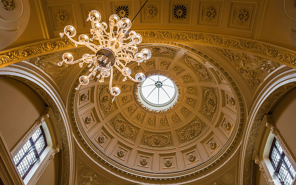 Beautiful Roman Baths Entrance Hall