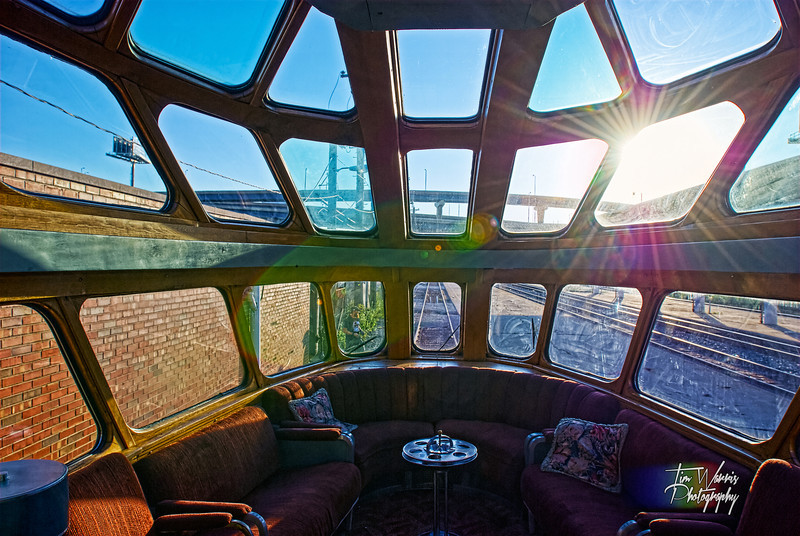 Inside The Hiawatha in Milwaukee, WI.  Fully restored to its original grandeur.  Imagine crossing the county in this...