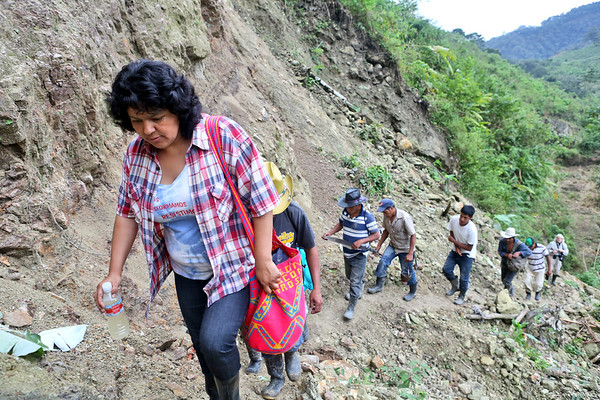Berta Caceres 2015 Goldman Environmental Award Recipient