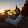 Acción en Doñana contra el proyecto de Gas Natural Fenosa