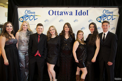 Ottawa Idol Red carpet