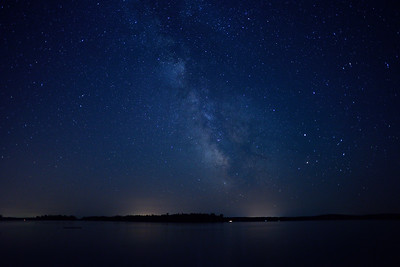 Milky Way Over the Ottawa