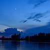 Moonrise Over the Ottawa