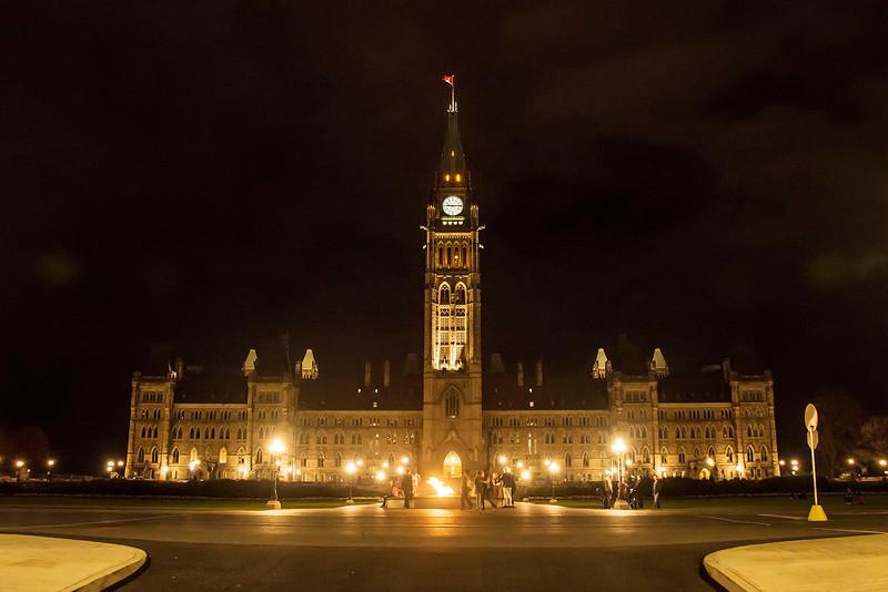 Parliament of Canada in Ottawa