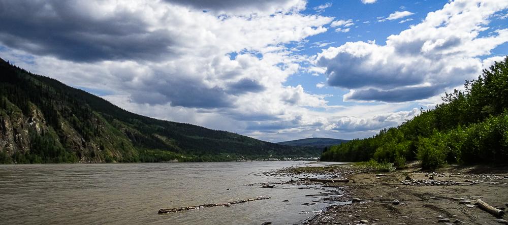 Upriver from Dawson City
