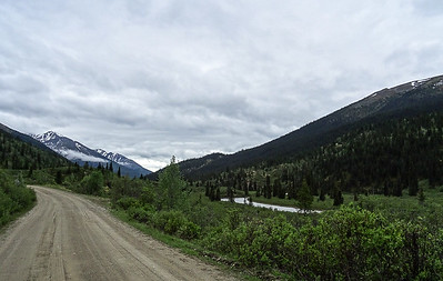 Dark Skies On The South Canol Road