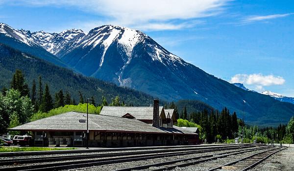 Train Sation Rockies