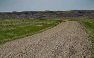 Gravel Road - Grasslands National Park